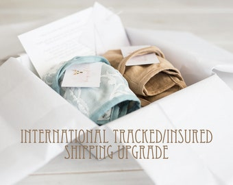 tracked shipping upgrade for International orders