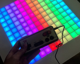 Retro Game Console, Led Coffee Table, Tetris Table, Game Table, Gameboy, Gameroom, LED decor