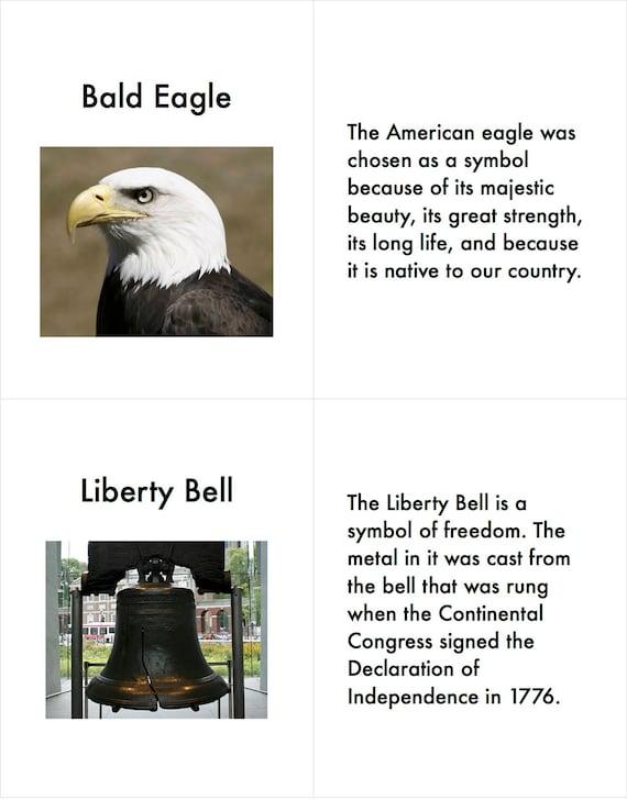 Us Symbols Landmarks And Holidays Magnolia Montessori Etsy