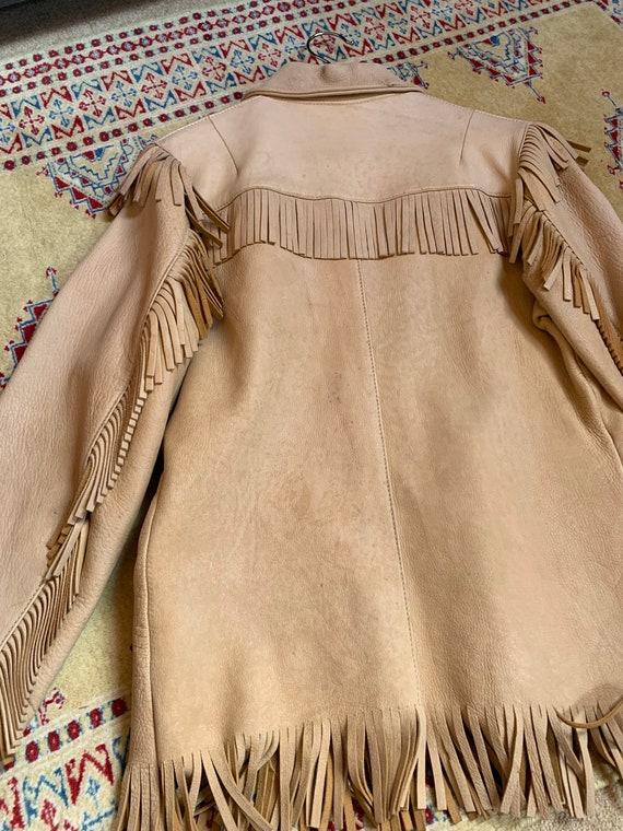 1940s western fringe jacket - image 3