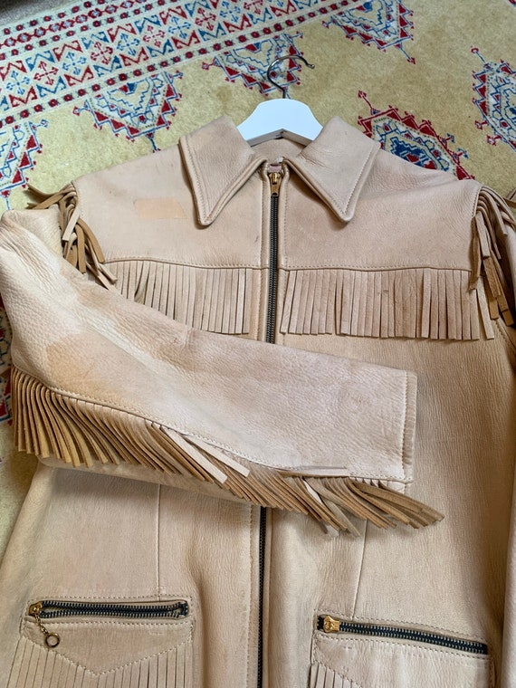 1940s western fringe jacket - image 7