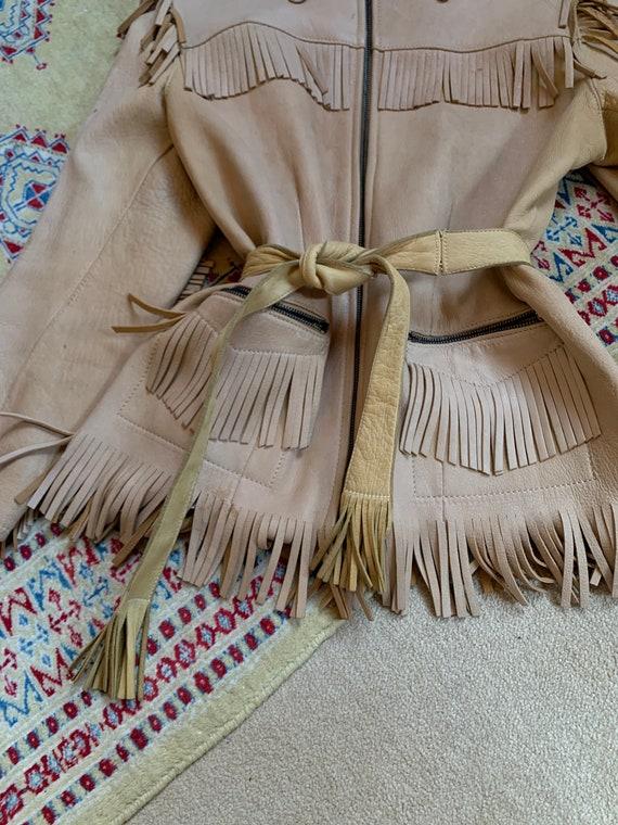 1940s western fringe jacket - image 8
