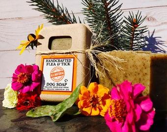 All Natural Flea & Tick Dog Soap