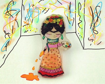 Frida Handmade Brooches