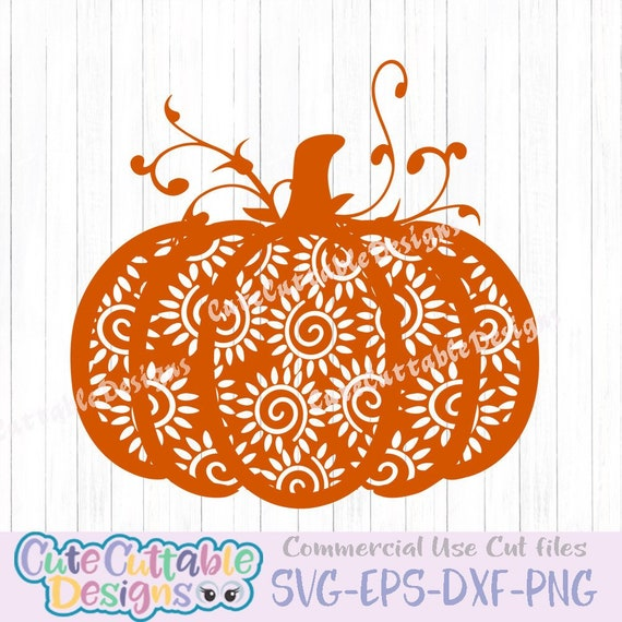 df62e03676acc3 Fall Pumpkin SVG Aztec Single layer Thanksgiving Autumn