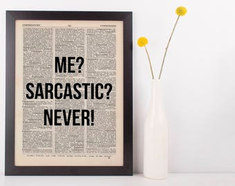 Funny/Sarcastic quotes