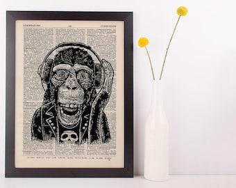 Monkey Prints
