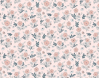 Earth Magic Fairy Pink Fabric Floral Cluster