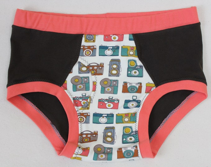 Photographic Memory - Organic Cotton Briefs for Fellows