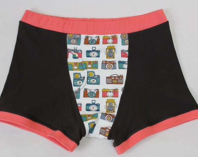 Photographic Memory - Organic Cotton Boxer Briefs for Fellows