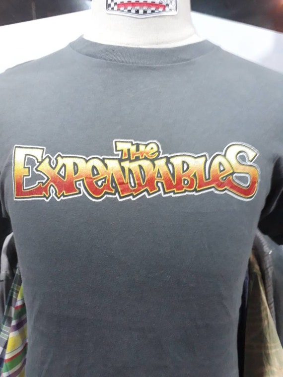Super rare vintage 90s The Expendables fish and bo