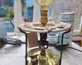 Vintage stove lamp