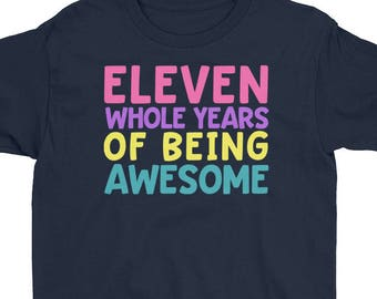 11th Birthday Party Shirt