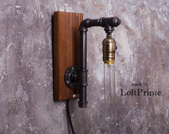 Bathroom bulb lamp Wall lamps Modern foyer lamp Modern sconce Gifts for mom Parents anniversary Wall sconce light Bathroom wall light