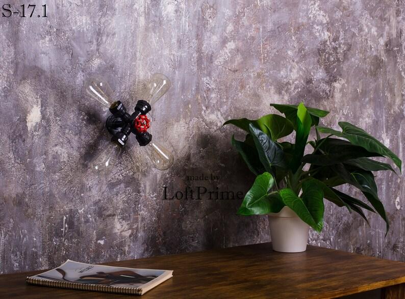 Lampada da parete rustica Homeowner Gift lampada a tubo ANNyPimU