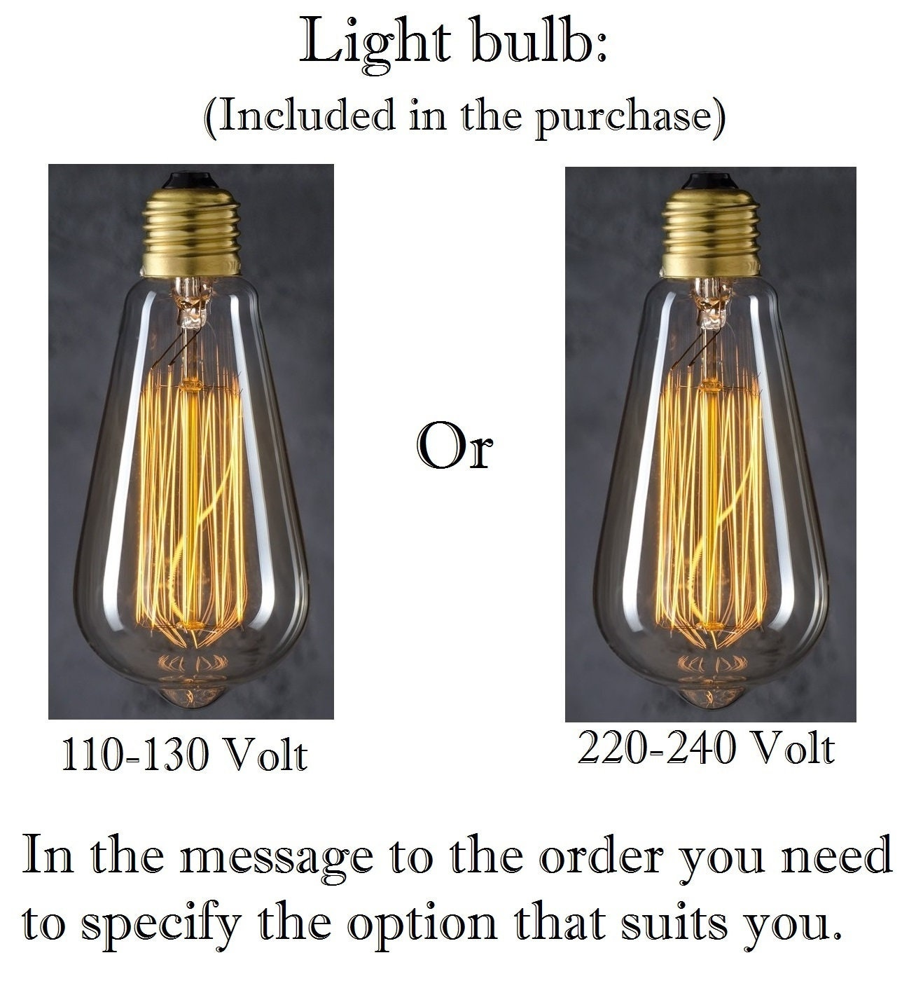 Lampade Edison tubo industriale  Edison lampada moderna