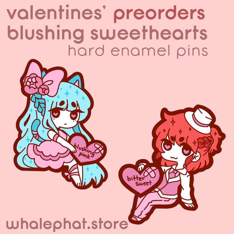 PRE-ORDER: Valentines' Blushing SweetHearts Both SweetHearts