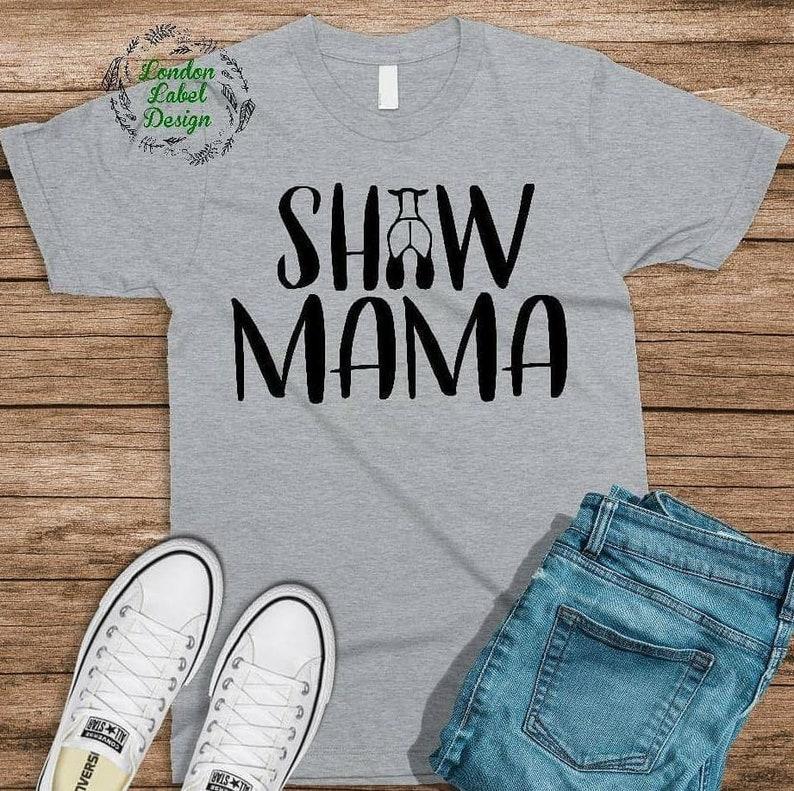 2ab96500280 Show Mama Show Sheep Mom soft feel unisex fit bella tee   Etsy