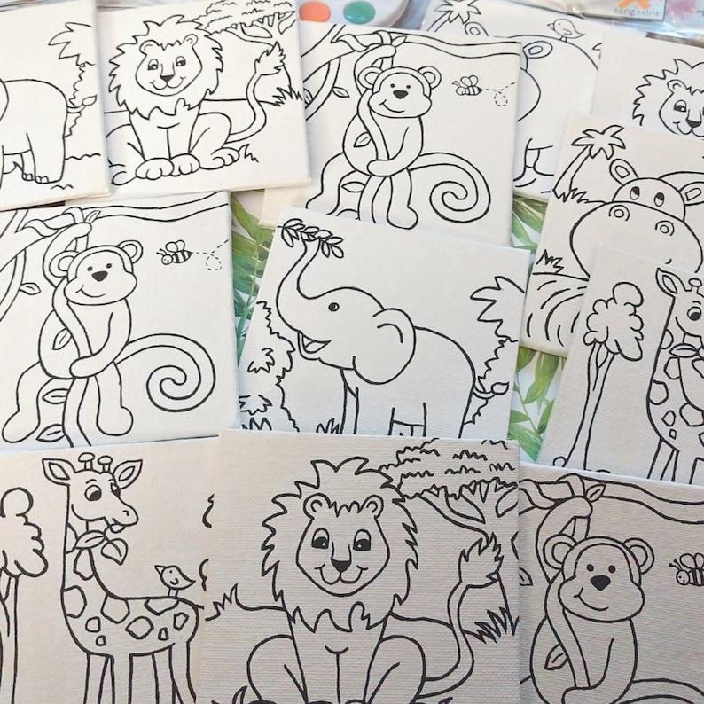 Art Party Favors Kids Activity Pack