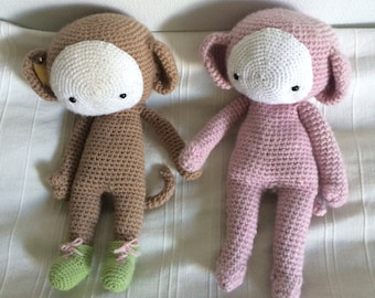 Custommade Monkey Amigurumi