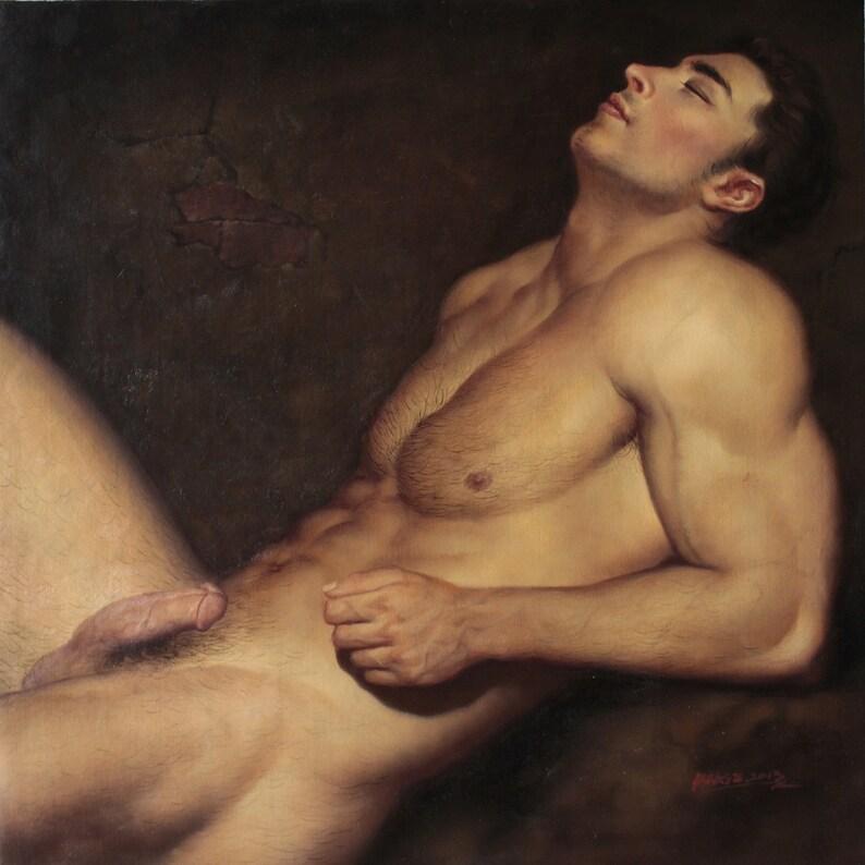 Male model matt eldracher completely naked photoshoot