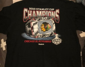 Chicago Blackhawks Stanley Cup 2010 Shirt