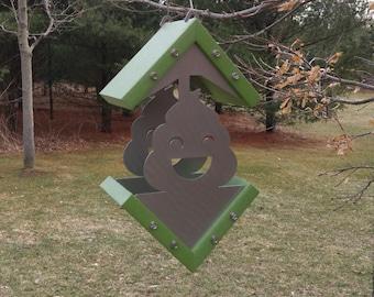 Poo Emoji Bird Feeder Kit