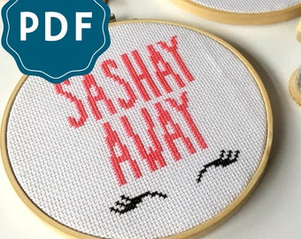 CROSS SITCH PDF | Sashay Away Downloadable Pattern and Instructions