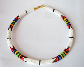 african necklace etsy