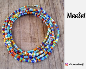 NEW!! Maasai - Waist Beads - Belly Chain - Belly Beads - African Waist Beads - African jewelry