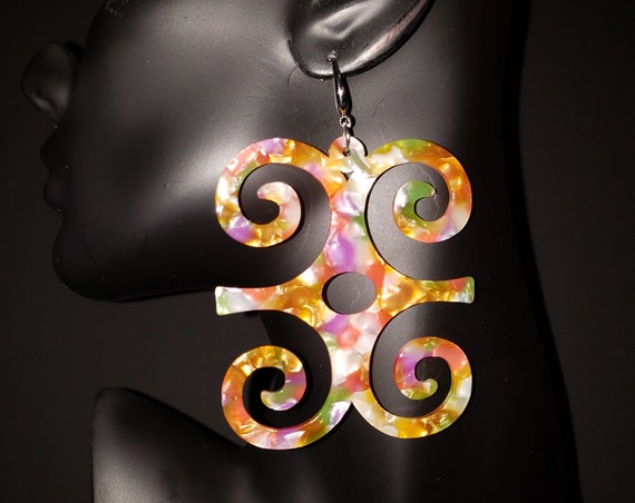 Joyfulheads  Adinkra Fierce Collection DWENNIMMEN Strength