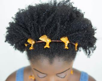 Sale ! Joyfulheads Nefertiti headband, Afrocentric headbands USE CODE95 for 5.00