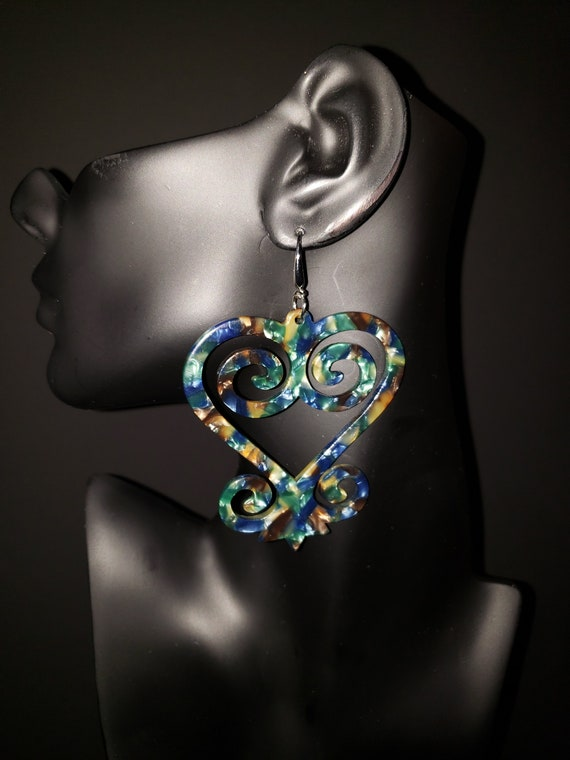"Joyfulheads Adinkra Fierce Collection ""SANKOFA"" Teal"