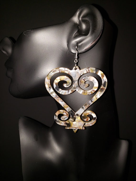 "Joyfulheads  Adinkra Fierce Collection  ""SANKOFA Iced Champagne"