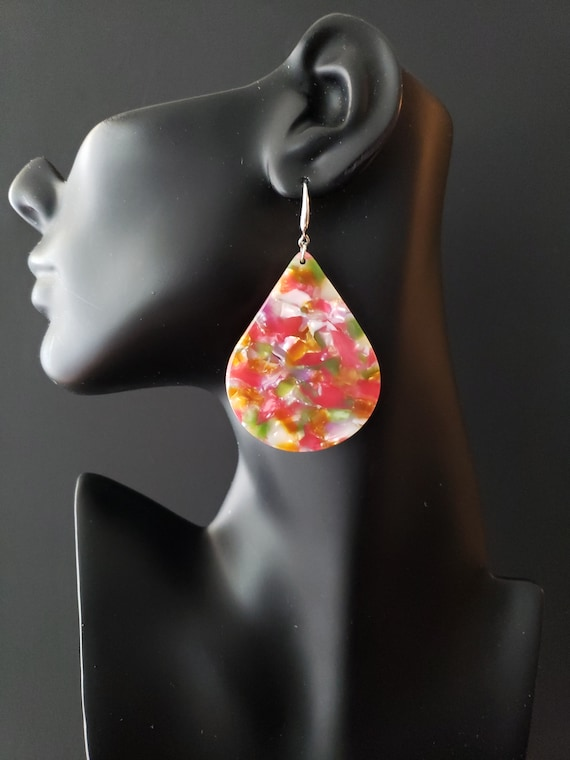 Joyfulheads  Luscious Collection Multicolored tear drop