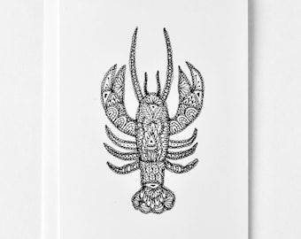 Lobster, Maritime Greeting Card, Nova Scotia, Valentine's Card, Anniversary, You're My Lobster