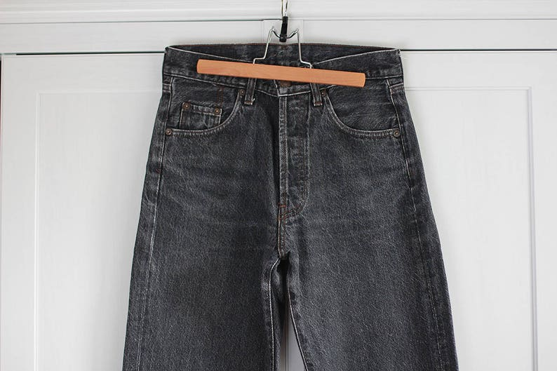 8d4521cc BIG STAR Jeans Vintage denim trousers Gray Graphite High | Etsy