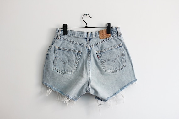 LEVI'S 901 jean shorts, Vintage light blue denim s