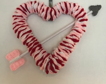 Valentine's Day Wreath for Front Door Valentine's Day Decor - FREE SHIPPING