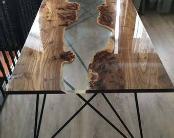 Epoxy Resin Table Etsy