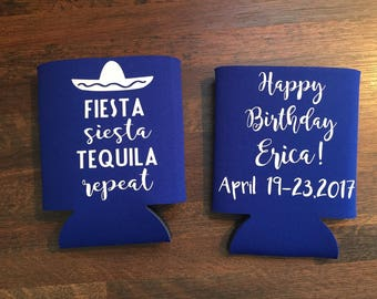 Fiesta Party can coolers