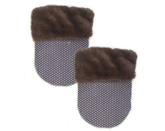 Classic Brown Fur II Pocket Cozy
