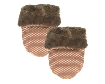 Classic Brown Fur Pocket Cozy