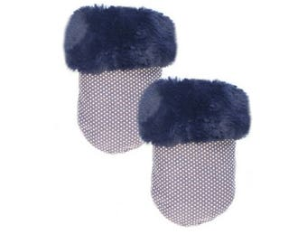 Ocean Blue Fur Pocket Cozy