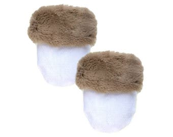 Beach Tan Fur Pocket Cozy