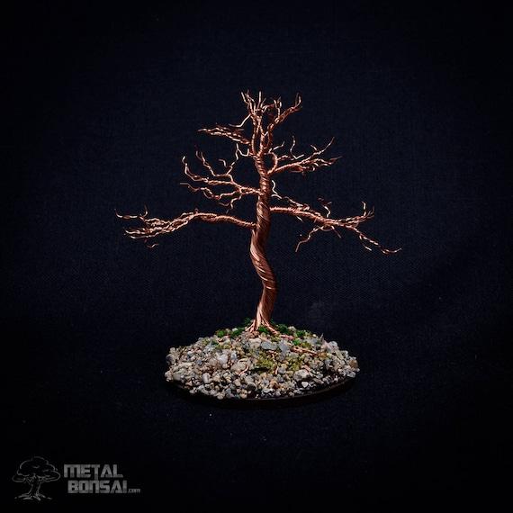 Kupfer Draht Baum Skulptur Draht Baum Skulptur Draht Etsy
