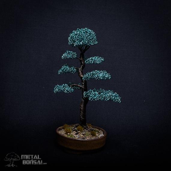 Baum-Skulptur Draht Draht Bonsai-Baum Baum