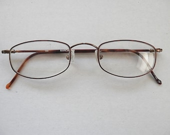 dbce7f7345bc Marchon Vintage Rx Eyeglasses Frames Superthin 36 Full Rim 50-22-150 Italy