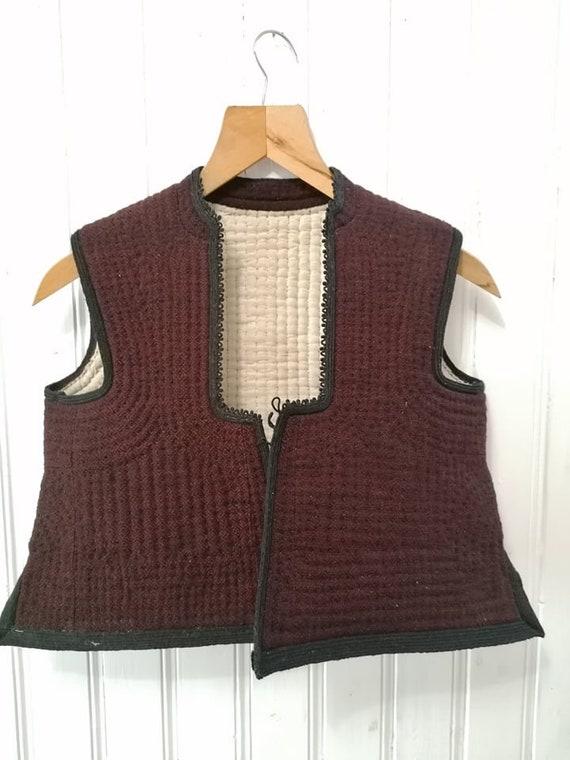 Folk Vest , Folk costume,  Bulgarian folk costume,