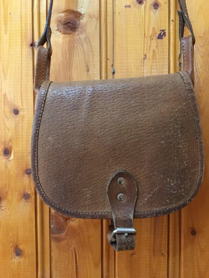 d64cbb3538a63 Leder Tasche Vintage-Leder-Geldbörse kleine braune